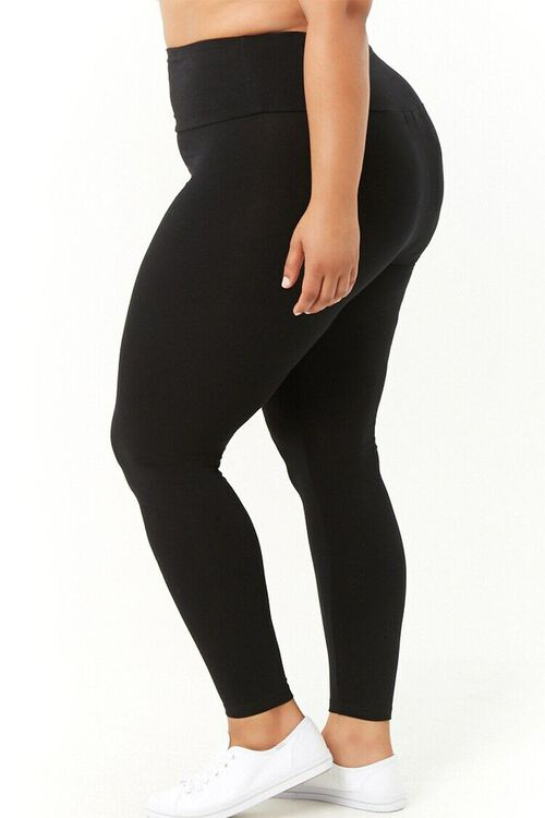 Plus Size High-Waist Leggings, image 3