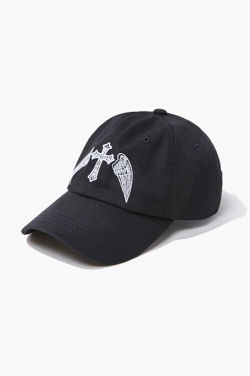 Winged Cross Dad Cap, image 2