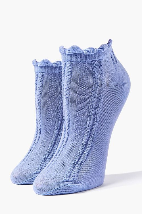 Ruffled Ankle Socks, image 1