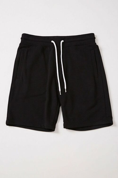 French Terry Drawstring Shorts, image 1