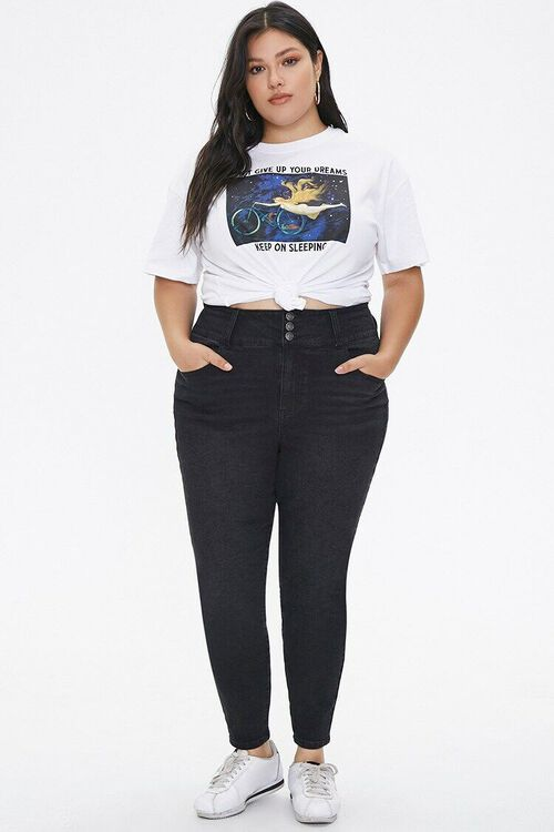 Plus Size Curvy-Fit Skinny Jeans, image 5