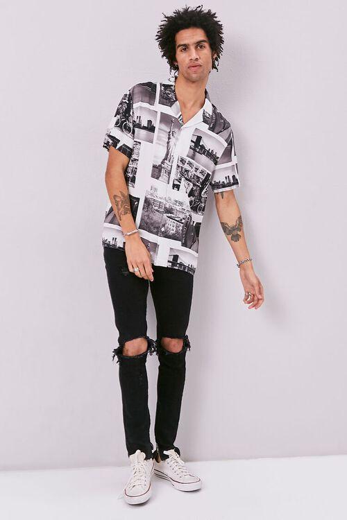 Classic Fit New York Print Shirt, image 4