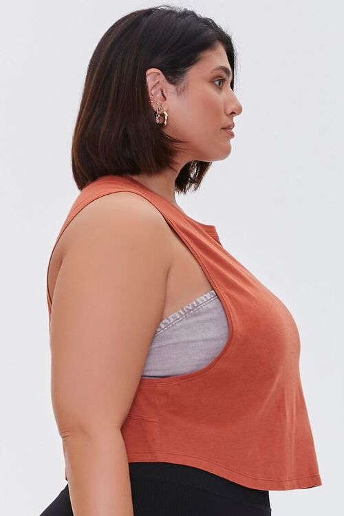 Plus Size Active Muscle Tee, image 2