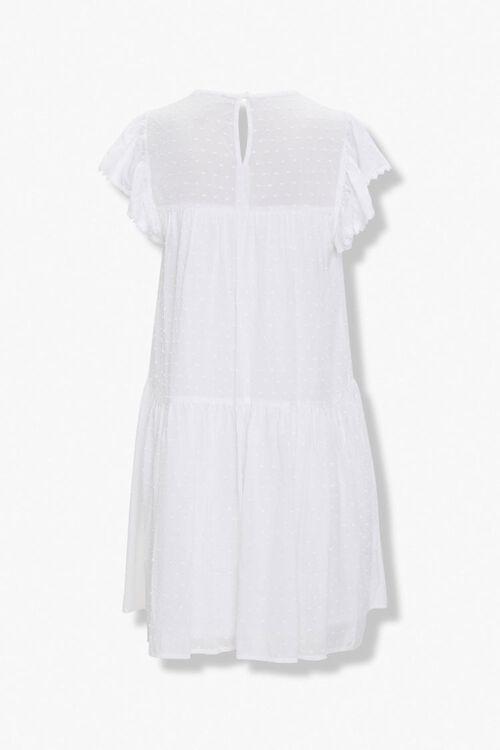 Clip Dot Shift Mini Dress, image 3
