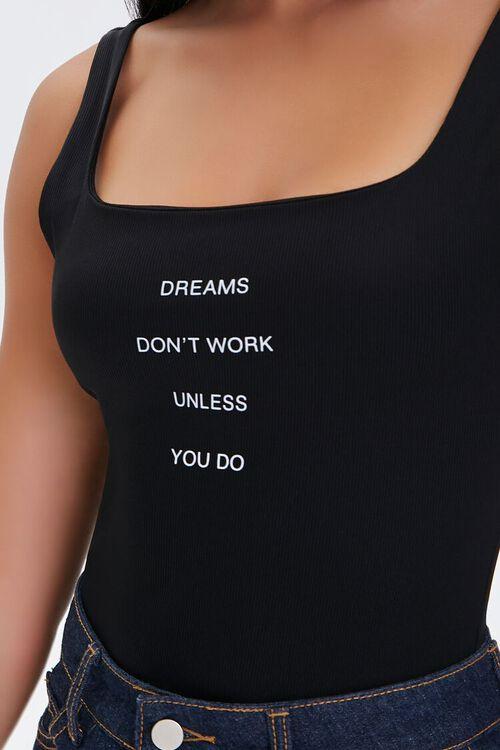 Dreams Graphic Bodysuit, image 6