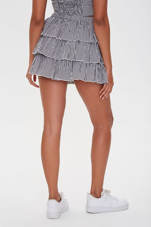 Gingham Tiered Skirt, image 4