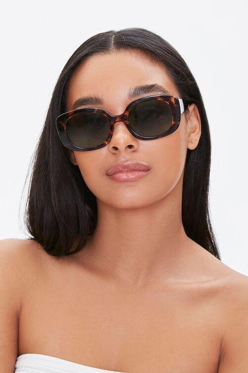 Tinted Oval Sunglasses, image 1