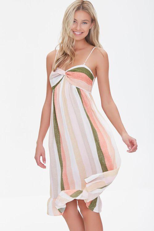 Striped Cami Dress, image 1