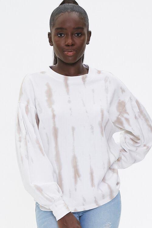Tie-Dye Wash Pullover Top, image 1