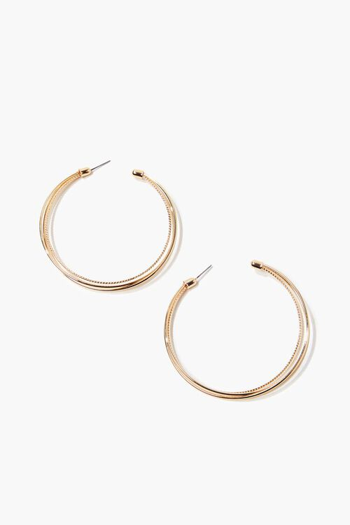Layered Hoop Earrings, image 2