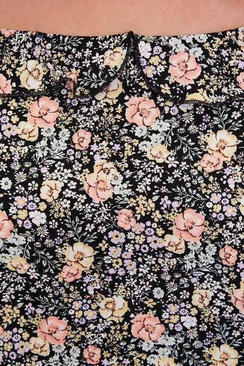 Plus Size Floral Crop Top, image 5