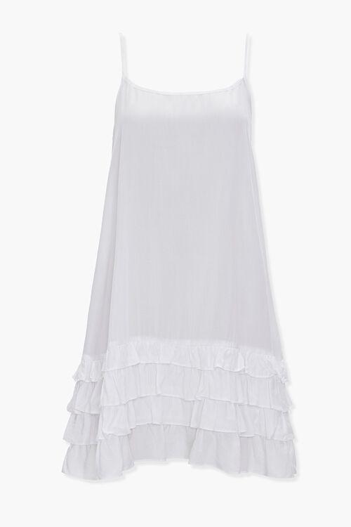 Tiered Ruffle Shift Dress, image 1