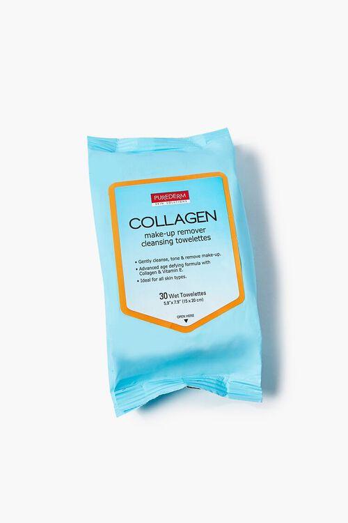 BLUE Collagen Makeup Remover Wipes, image 1