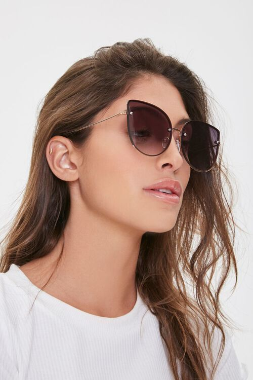 Oversized Cat-Eye Sunglasses, image 2