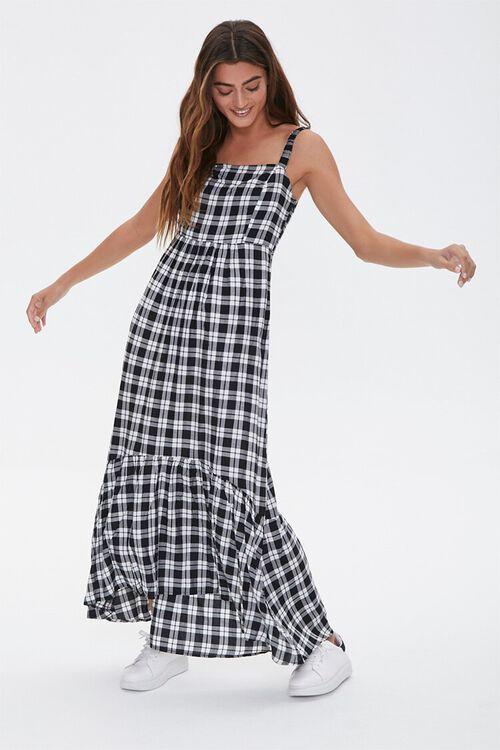 Plaid Maxi Dress, image 1
