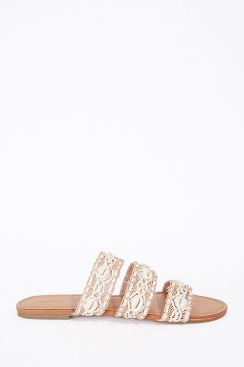 Caged Shell Sandals, image 1