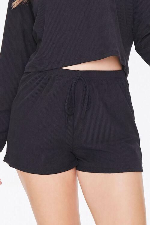 Ribbed Top & Shorts Pajama Set, image 6