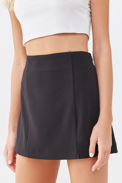 Crepe Mini Skirt, image 2