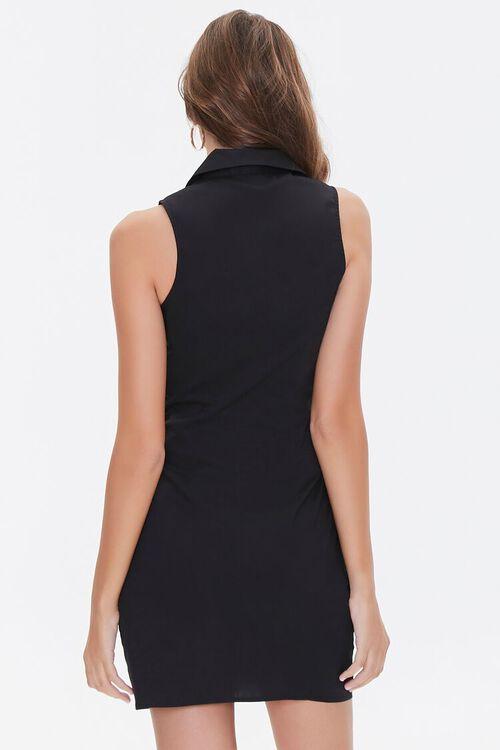 Sleeveless Bow Shirt Dress, image 3
