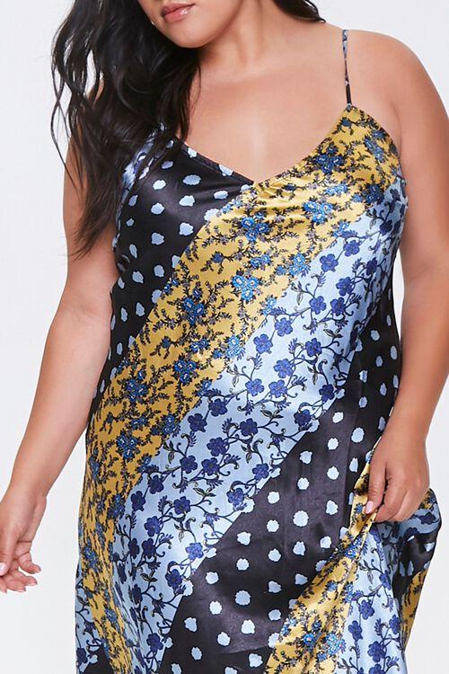 Plus Size Patchwork Maxi Dress, image 5