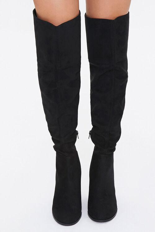 Over-the-Knee Block Heel Boots, image 4