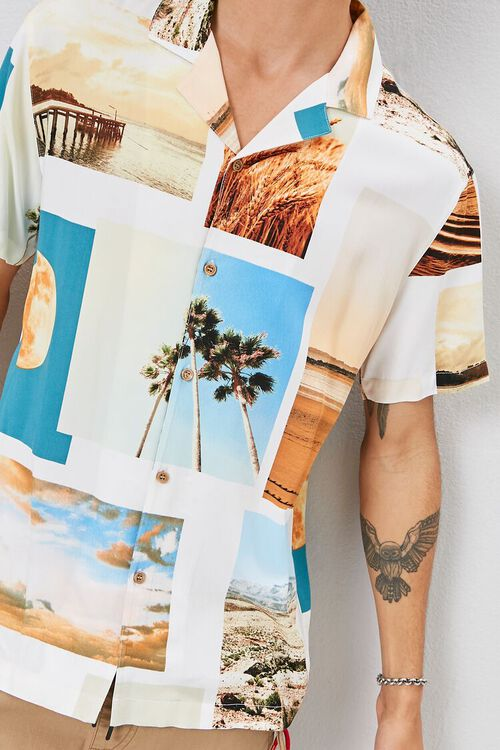Classic Fit Beach Graphic Shirt, image 5