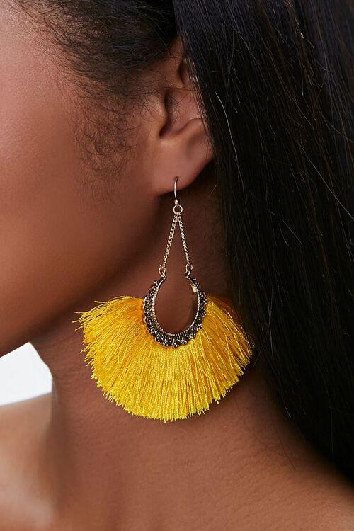 Fan Drop Earrings, image 1