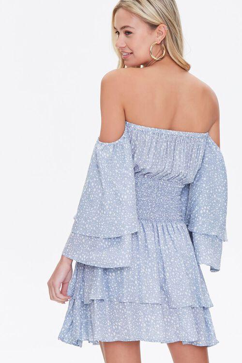 Spotted Off-the-Shoulder Dress, image 3