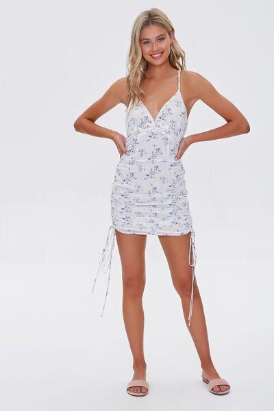 NWT Forever 21 Knit Dress Yellow Long Sleeve Bodycon V-Neck Mini Dress Size S