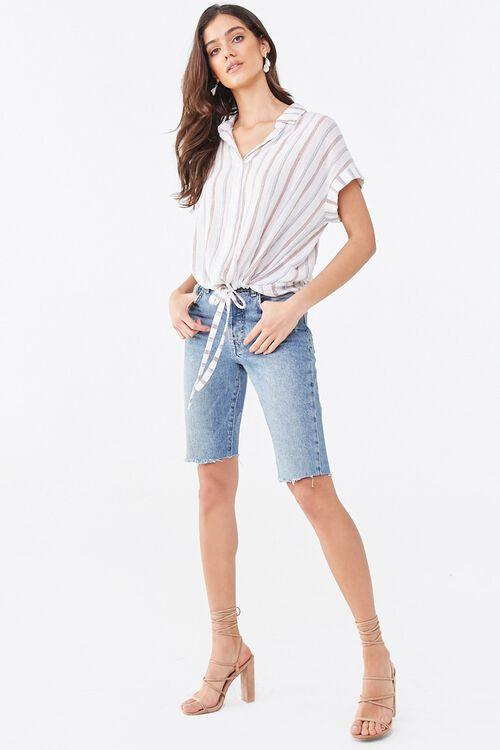 Striped Drawstring Shirt, image 4