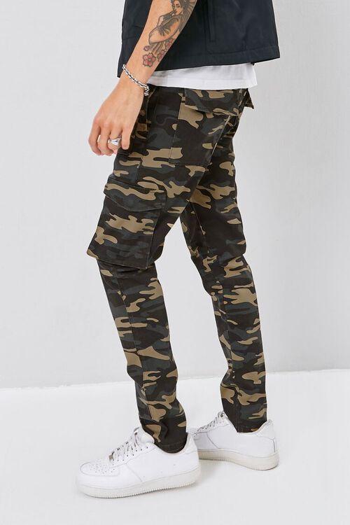 Camo Print Cargo Pants, image 3