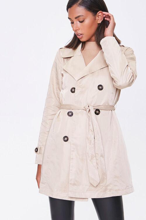 Double-Breasted Trench Coat, image 1