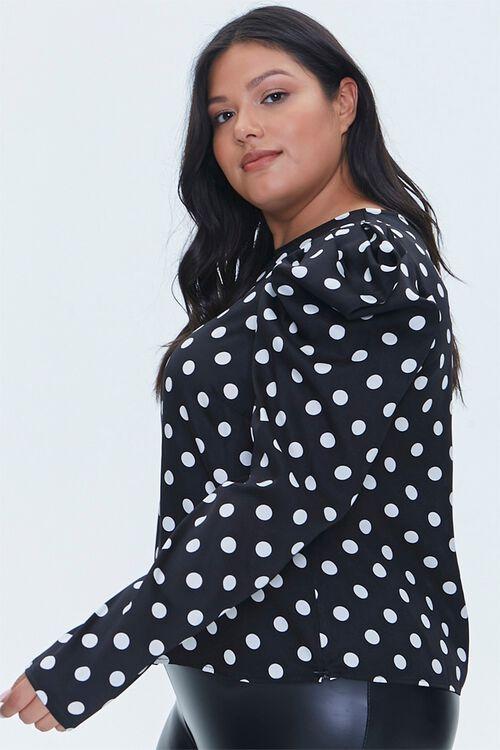 Plus Size Polka Dot Top, image 2