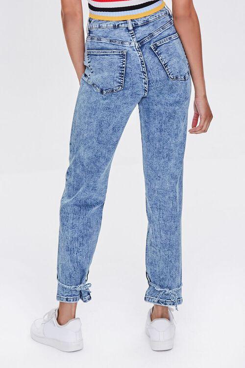 High-Rise Acid Wash Jeans, image 5