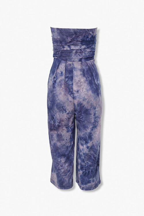 Tie-Dye Strapless Jumpsuit, image 3