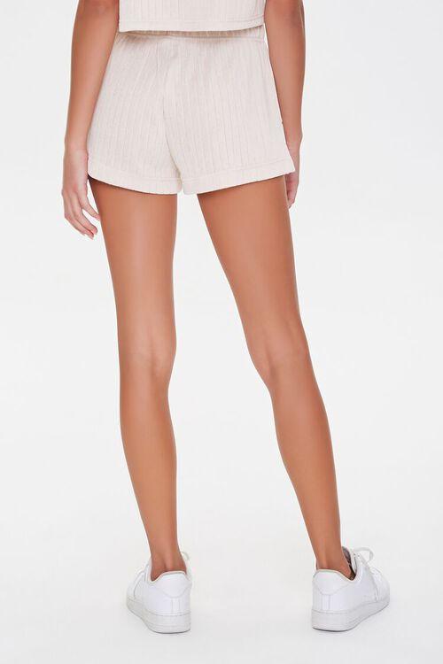 Ribbed Drawstring Shorts, image 4