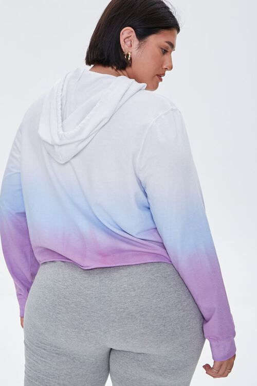Plus Size Active Ombre Hoodie, image 3