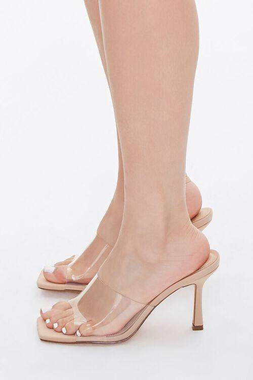 Translucent-Strap Stiletto Heels, image 2