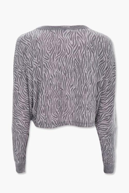 Tiger Stripe Print Pullover, image 3