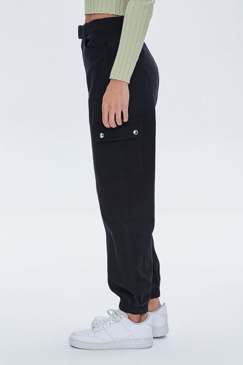 Belted Cargo Joggers, image 3
