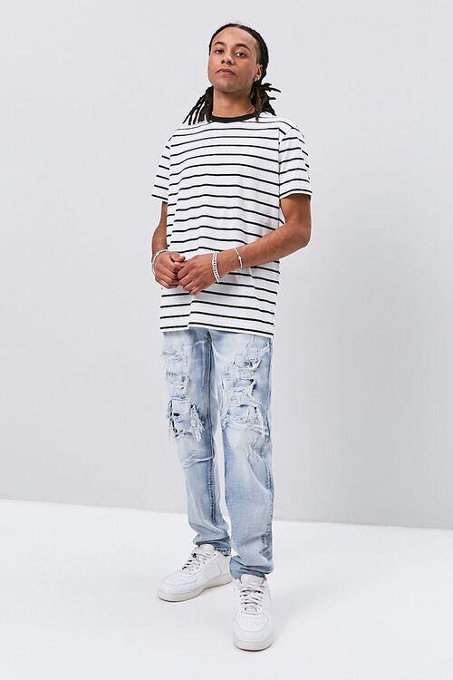 Distressed Slim-Fit Jeans, image 5