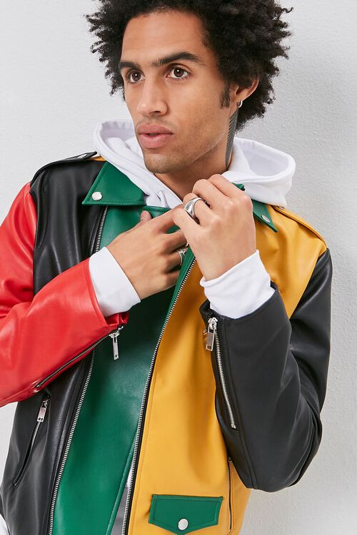 Colorblock Moto Jacket, image 2