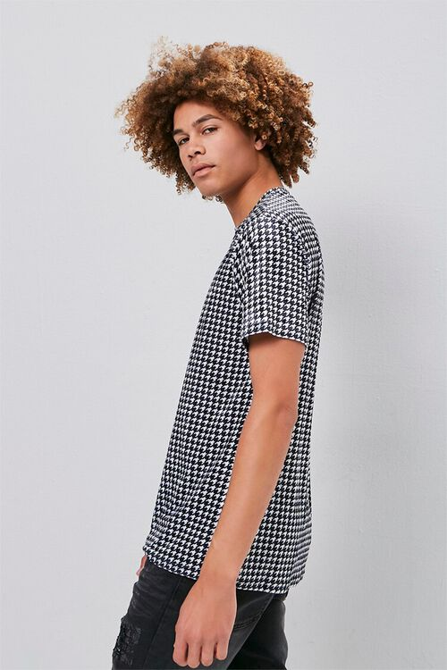 Velour Houndstooth Tee, image 2