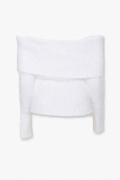Foldover Off-the-Shoulder Sweater, image 3