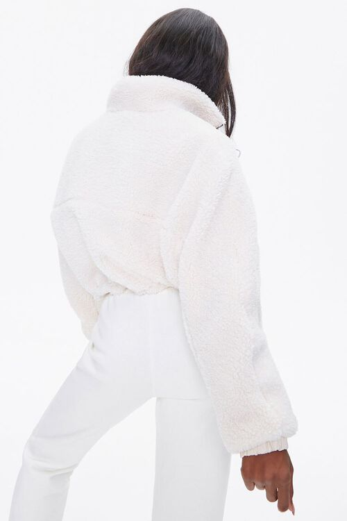 Faux Shearling Zip-Up Jacket, image 3