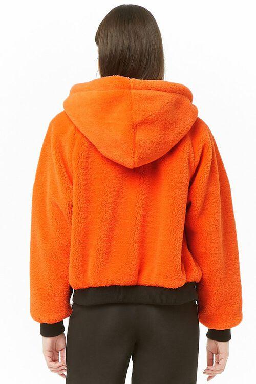 NASA Hooded Faux Fur Jacket, image 4