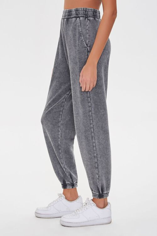 Oil Wash Smocked Joggers, image 3