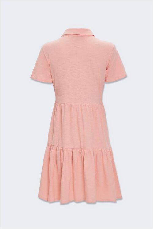 Tiered Polo Shirt Dress, image 2