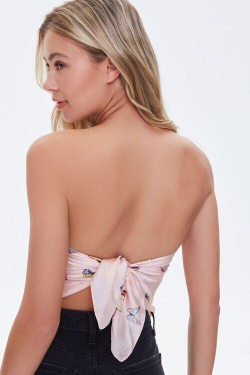 Butterfly Print Handkerchief Top, image 3