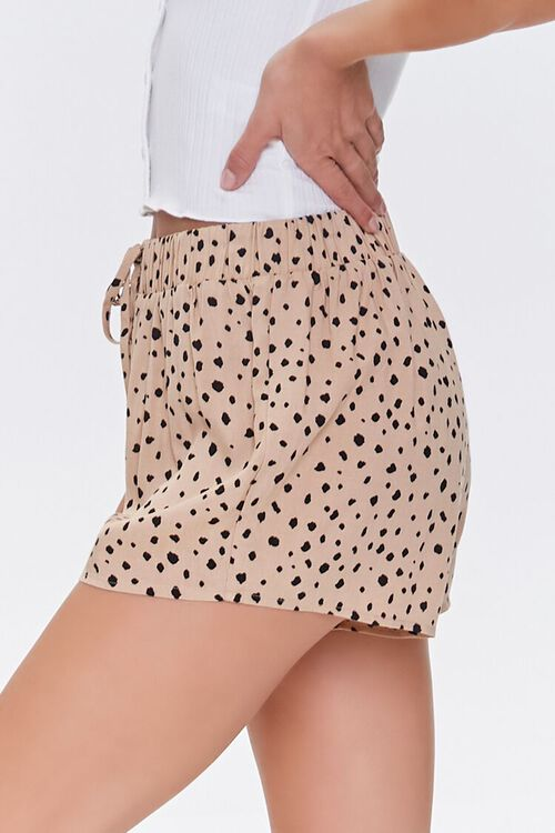 Spotted Print Lounge Shorts, image 3